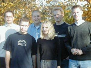 v.l.: Andre Wand, Timo Degenhardt, Arno Klein, Miriam Triefenbach, Daniel Köhne und Joachim Schmitz