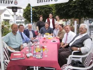 Dagmar Schmidt und ihr neues Team zu Gast bei der Mescheder Ratsfraktion