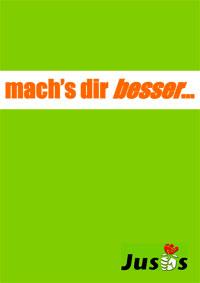 Das Infopaper der Mescheder Jusos zur Kommunalwahl 2004.