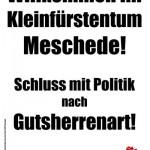 Die Juso-Plakate im Kommunalwahlkampf 2004 kommen gut an.