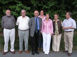 Auf dem Foto von links: Theo Goesmann, Willi Bischoff (geehrt für Mitgliedschaft seit mehr als 25 Jahren), Reinhard Schmidt, Gritta Goesmann, Stefanie Richter, Angelika Gödde und Gerhard Wolf.