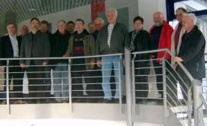 Mitglieder und Freunde des SPD-Ortsvereins Meschede beim Besuch der Firma Möller in Eversberg