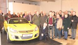 Die Besucher des Stadtverbandes waren von der Führung durch die Bochumer Opel-Werke sehr beeindruckt.