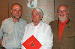 v.l.: Reinhard Schmidt, Wolfgang Bürger und Siegfried Lumme