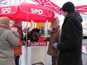 Die Meschede Sozialdemokraten im Dialog mit Bürgerinnen und Bürgern
