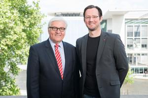 Frank-Walter Steinmeier und Dirk Wiese