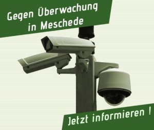 Gegen Überwachung in Meschede