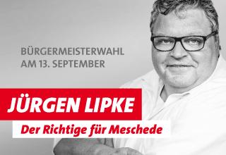 Jürgen Lipke, Bürgermeisterkandidat für Meschede